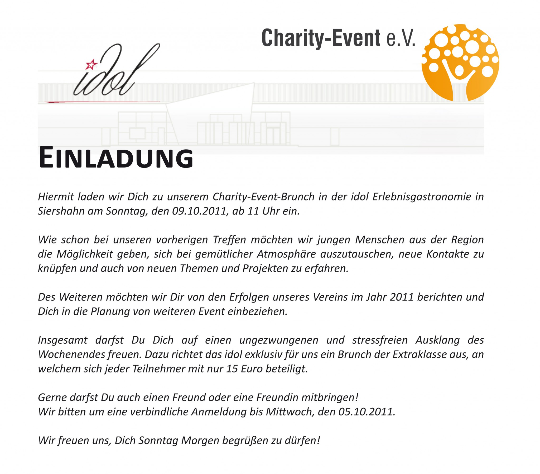 Charity-Brunch - Charity-Event e.V.