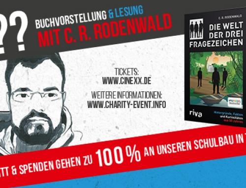 Buchvorstellung & Lesung mit C.R. Rodenwald