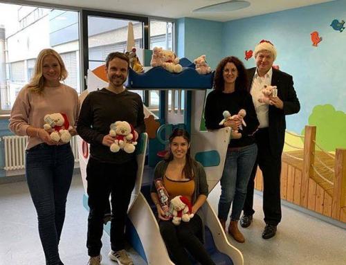 Weihnachtsgeschenke für die Kinderklinik Kemperhof Koblenz 2019